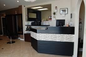 tufted salon reception desk nail reception desk best nails 2018