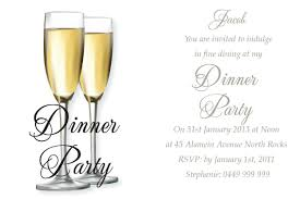 Party Invitation Card Template Invitation Card Templates For Dinner