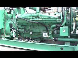 cummins kta50 g3 1250kw 480v w fuel tank open diesel generator
