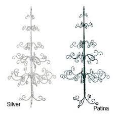 wrought iron tree decor ideas