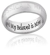 engraving on wedding rings gold wedding rings engraved letters miracle wedding rings
