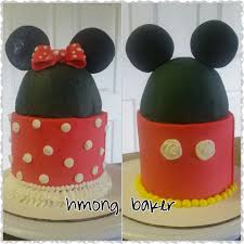 Red Minnie Mouse Cake Decorations Mickey Minnie Mouse Cake Cake Decorating Youtube