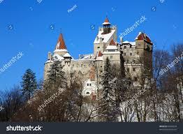 draculas castle bran castle transylvania stock photo 45956674