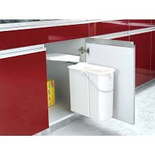 Ikea Trash Pull Out Cabinet In Cabinet Pivot Out Trash Pull Out Trash Bin With Lid 15 L Pull