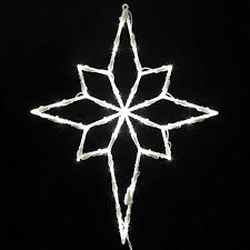 Christmas Window Decorations by Amazon Com Vickerman Lighted Led Star Of Bethlehem Christmas