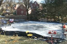 diy backyard ice skating rink video be sportier