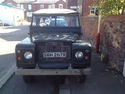 military land rover discovery landrover defender 1972 ex army land rover series 2 a canvas roof