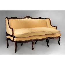 Modern Fabric Sofa Designs by Charming Flower Pattern Cabriole Sofa Design Ideas Featuring Gray