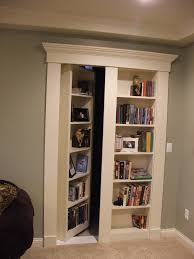 Secret Door Bookcase Passages Basement Traditional With Secret Door Bookcase