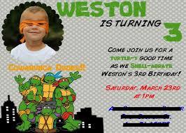 ninja turtle birthday invitations ideas u2013 bagvania free printable