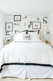 white bedrooms simple white bedroom black feature wall on home design ideas with