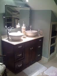 double bathroom sink no room for a double sink vanity try a