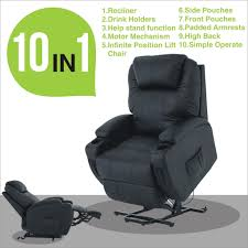 furniture electric lift chair best of dark brown electric lift