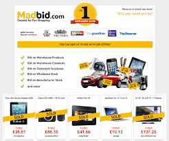 mad bid madbid best auction in uk better than discounts uk