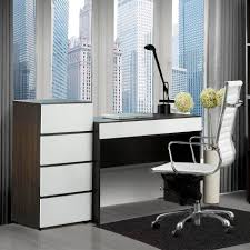 White Contemporary Desks by Small Modern Computer Desk Stunning Desks For Spaces Spaces Amys