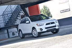 mitsubishi outlander sport 2016 blue first drive 2015 mitsubishi outlander sport se awc six speed blog