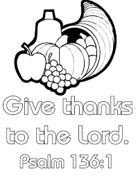 thanksgiving coloring page it s great for sunday school