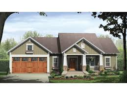 Country Craftsman House Plans Home Plan Homepw76706 1627 Square Foot 3 Bedroom 2 Bathroom