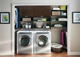 Laundry Room Shelves And Storage by Custom Closet Designs And Storage Solutions By Desert Sky Doors