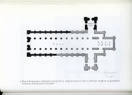 medieval european history plan romanesque rochester cathedral