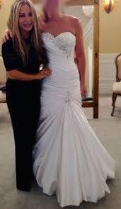 pnina tornai dresses pnina tornai white silk strapless 2015 formal wedding dress size 6
