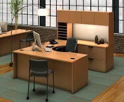 L Shaped Desk Hutch U Shaped Computer Desk With Hutch Desk Workstation Espresso U