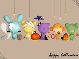 free holiday wallpapers cute halloween wallpapers