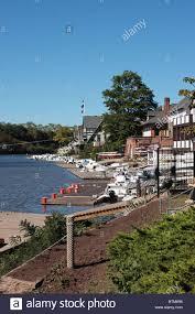 Boat House Row - boathouse row schuylkill river philadelphia pennsylvania us stock