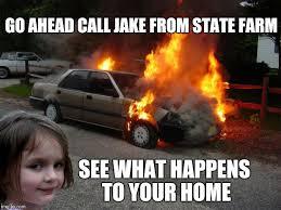 Disaster Girl Meme Generator - disaster girl car imgflip