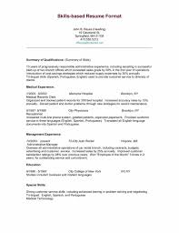 Resume Sample Format Microsoft Word by Best Word Resume Template Sample Resume123