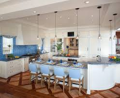 blue kitchens with white cabinets stunning blue kitchen countertops pictures images best idea home