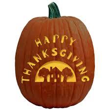 happy thanksgiving the pumpkin