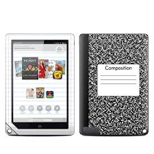 Nook Tablet Barnes And Noble Barnes And Noble Nook Hd Plus Tablet Skin Composition Notebook