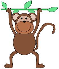monkey clip art 74975