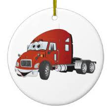 big rig ornaments zazzle ca