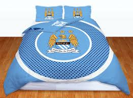 Barcelona Duvet Set Man City Fc Manchester City Football Club Double Duvet Quilt Cover