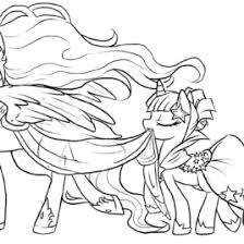 coloring pony friendship magic archives mente