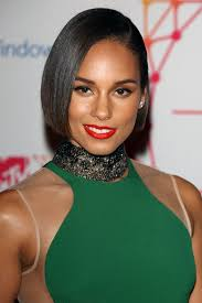 chin length hairstyles for ethnic hair alicia keys chin length bob haircut women hairstyles