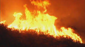 Wildfire Dc by Wildfire In Santa Cruz Mountains Prompts Evacuations Threatens