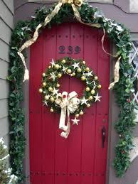 front door entrance decoration ideas wreath uk easy
