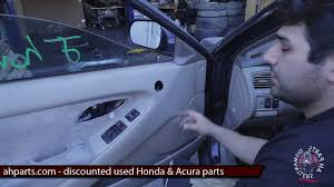 1999 honda civic window motor how to fix replace install broken power window regulator motor