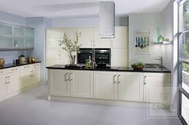 Black Kitchen Cabinets With Stainless Steel Appliances Kitchen Shaker Style Cream Wooden Kitchen Cabinet Nice Industrial