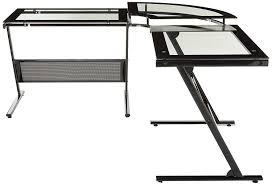 Z Line L Shaped Desk by Amazon Com Z Line Delano L Computer Desk Kitchen U0026 Dining