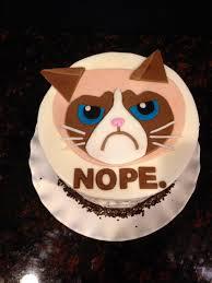 birthday cakes my 39th birthday cake u2026grumpy cat my favorite