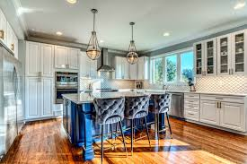 kitchen cabinets with blue doors custom kitchen cabinet gallery kitchen galleries kith