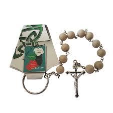 single decade rosary single decade rosary ulster white marble