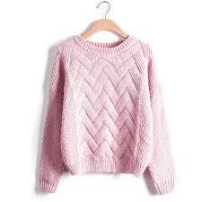 cable sweater winter sweater fashion sleeve o neck twist chunky cable
