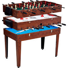 3 in 1 game table foosball pool and air hockey home table decoration