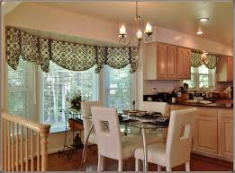 kitchen bay window treatment ideas curtains and drapes for bay