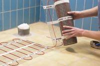 installing heated floors radiant heated floors electric and